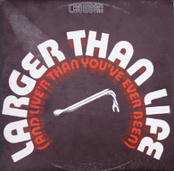 CROWBAR  -  LARGER THAN LIFE (AND LIVE'R THAN YOU'VE EVER BEEN)  (G79757/LP)