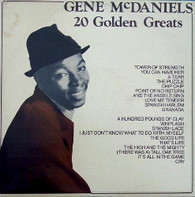 MCDANIELS,GENE  -  20 GOLDEN GREATS  (G801158/LP)