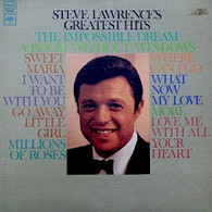 LAWRENCE,STEVE  -  STEVE LAWRENCE'S GREATEST HITS  (G801154/LP)