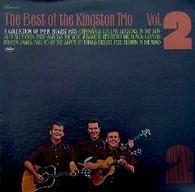 KINGSTON TRIO  -  BEST OF THE KINGSTON TRIO VOLUME 2  (G801149/LP)