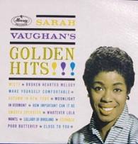 VAUGHAN,SARAH  -  GOLDEN HITS!!  (821218/LP)
