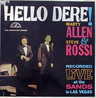 ALLEN,MARTY & STEVE ROSSI  -  HELLO DERE!  (85342/LP)
