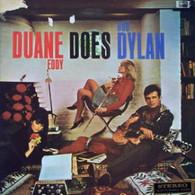 EDDY,DUANE  -  DUANE EDDY DOES BOB DYLAN  (G77705/LP)