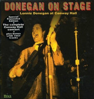 DONEGAN/LONNIE - DONEGAN ON STAGE (EXPANDED)    (CD18284/CD)