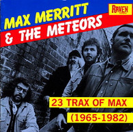 MERRITT/MAX - 23 TRAX OF MAX (1965-82)    (CD2476/CD)