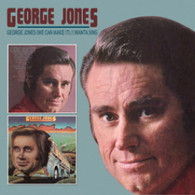JONES/GEORGE - GEORGE JONES (WE CAN MAKE IT) / I WANTA SING    (CD23846/CD)