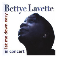 LAVETTE/BETTYE - LET ME DOWN EASY : IN CONCERT    (ACD2594/CD)