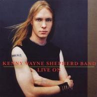 SHEPHERD/KENNY WAYNE - LIVE ON    (ACD1865/CD)