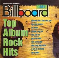 VARIOUS - BILLBOARD TOP ALBUM ROCK HITS 1981    (USCD9588/CD)