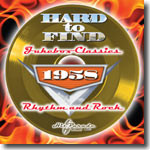 VARIOUS - HARD TO FIND JUKEBOX CLASSICS 1958 : RHYTHM & ROCK    (CD22405/CD)