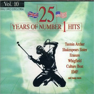 VARIOUS - 25 YEARS OF NUMBER ONE HITS VOL.10    (CD20866/CD)