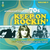 VARIOUS - AUSTRALIAN POP OF THE 70S VOLUME 5 : KEEP ON ROCKIN' (2CD)    (CD24470/CD)