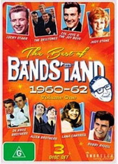 VARIOUS - BEST OF BANDSTAND VOLUME 1 : 1960-62 (3DVD)    (DVD2477/DVD)