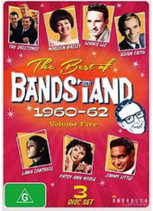 VARIOUS - BEST OF BANDSTAND VOLUME 5 : 1960-62 (3DVD)    (DVD2481/DVD)