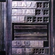 COLOURED BALLS - HEAVY METAL KID    (LP5396/LP)