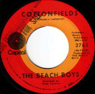 BEACH BOYS  -   Cottonfields/ The nearest farway place (G145020/7s)