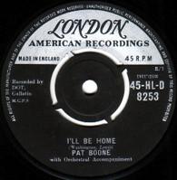 BOONE,PAT  -   I'll be home/ Tutti frutti (G145038/7s)