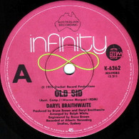 BRAITHWAITE,DARYL  -   Old Sid/ Time (G145045/7s)