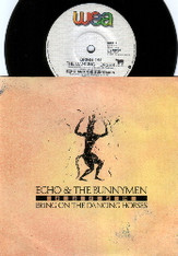 ECHO & BUNNYMEN  -   Bring on the dancing horses/ Over your shoulder (54138/7s)