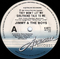 JIMMY & THE BOYS  -   They won't let my girldfriend talk to me/ Brave new world (G41130/7s)