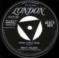 NELSON,RICKY  -   Poor little fool/ Don't leave me this way (G145327/7s)
