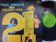 ANKA,PAUL  -  PAUL ANKA'S 21 GOLDEN HITS  (G145611/LP)