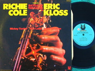COLE,RICHIE & ERIC KLOSS  -  BATTLE OF THE SAXES VOLUME I  (G145737/LP)