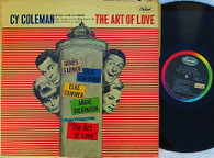 COLEMAN,CY  -  CY COLEMAN PLAYS AND CONDUCTS MUSIC FROM THE SCORE OF THE ART OF LOVE  (G145738/LP)