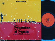 DAVIS,MILES  -  SKETCHES OF SPAIN  (G145784/LP)