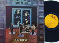 JETHRO TULL  -  BENEFIT  (G78779/LP)