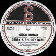GERRY & THE JOY BAND  -   Ongo bongo/ My name is Earl (G53438/7s)
