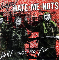 HAPPY HATE ME NOTS  -   Don't move too far/ Lively up yourself (G53487/7s)