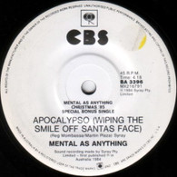 MENTAL AS ANYTHING  -   Apocalypso (Wiping the smile off santa's face)/ Big wheel (extended mix) (G53793/7s)