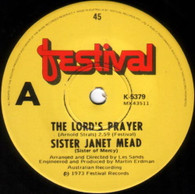 MEAD,SISTER JANET  -   The Lord's prayer/ Brother sun & sister moon (G53783/7s)