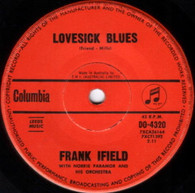 IFIELD,FRANK  -   Lovesick blues/ She taught me how to yodel (G53571/7s)