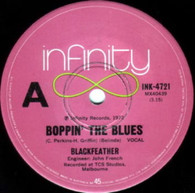 BLACKFEATHER  -   Boppin' the blues/ Find somebody to love (G53113/7s)