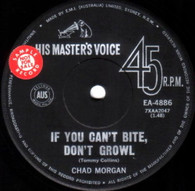 MORGAN,CHAD  -   On the social service/ If you can't bite don't growl (G53848/7s)