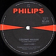 LAWS,JOHN  -   Colonel Maggie/ For a while we helped each other out (G54242/7s)
