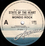 MONDO ROCK  -   State of the heart/ Mona Lisa (She smiles) (G56189/7s)