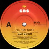 MOFFITT,MATT  -   All that stuff/ Fever pitch (G59299/7s)