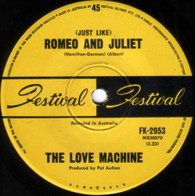 LOVE MACHINE  -   (Just like)Romeo & Juliet/ Get a little dirt on your hands  (G61295/7s)