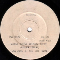 JOYE,COL & JOY BOYS  -   Sweet little sixteen twist/ What about me (G62245/7s)