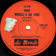 FLAKE  -   This wheels on fire/ You've got me thinking (G62176/7s)