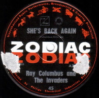 COLUMBUS,RAY & INVADERS  -   Till we kissed/ She's back again (G8486/7s)