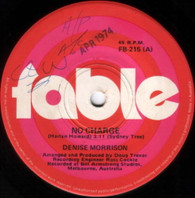 MORRISON,DENISE  -   No charge/ If you have to go (G65354/7s)