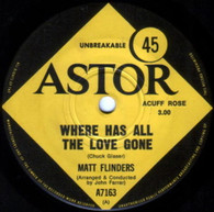 FLINDERS,MATT  -   Where has all the love gone/ Life is meant for living (G67243/7s)