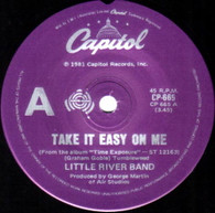 LITTLE RIVER BAND  -   Take it easy on me/ Orbit zero (G67374/7s)