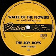 JOY BOYS  -   Waltz of the flowers/ Gavotte express (G68307/7s)