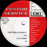 LITTLE SAMMY  -   Rhythm & crunch/ When it comes to the crunch (it's Smith's it is) (G68353/7s)
