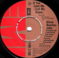 NEWTON-JOHN,OLIVIA  -   If you love me (let me know)/ Brotherly love (G69349/7s)